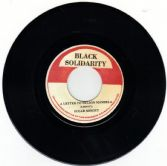 Sugar Minott - Letter To Nelson Mandela / Version (Black Solidarity) UK 7